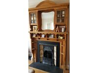 Antique fire surround - collection only from Harrow