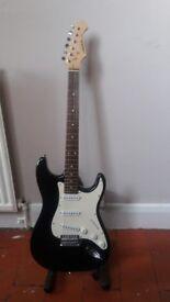Aria Electric Guitar Black