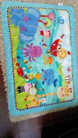 Large fisher price play mat