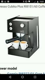 Gaggia Cubika Plus espresso coffee machine