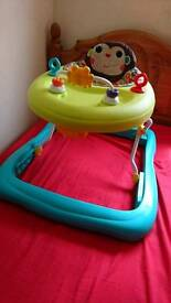 Baby walker hardly used
