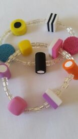 Bertie and dolly mixture jewellery