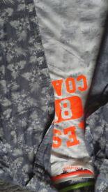 Short sleeve shirt & t shirt set - never worn age 11-12