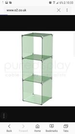 For sale Glass cube shop/ home shelving