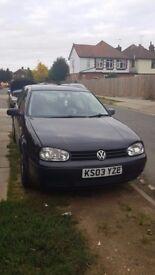 Volkswagen Golf 1.6 petrol in good condition