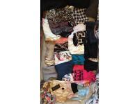 Woman's bundle of clothes