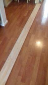 Length of kitchen under cupboard plinth/ kickboard