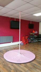 R Pole fitness dance pole