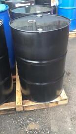 205 litre oil drums for sale