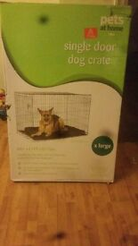 Xl dog cage new in box