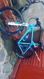 Bergamont metric 7.4 27.5 hardtail mountain bike