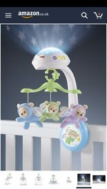 Fisher Price Butterfly Dreams cot mobile