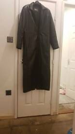 Men's Leather long coat