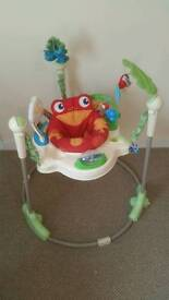 ***SOLD*** Fisher-price Rainforest Jumperoo