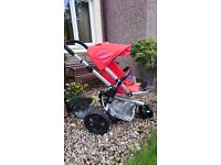Quinny Buzz pram, including newborn inset