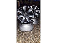 BMW style 44 Wheels in gun metal grey, CHEAP! e46, e36, etc