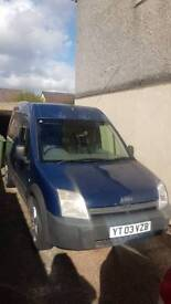 Ford Transit Connect LBW high top 2003