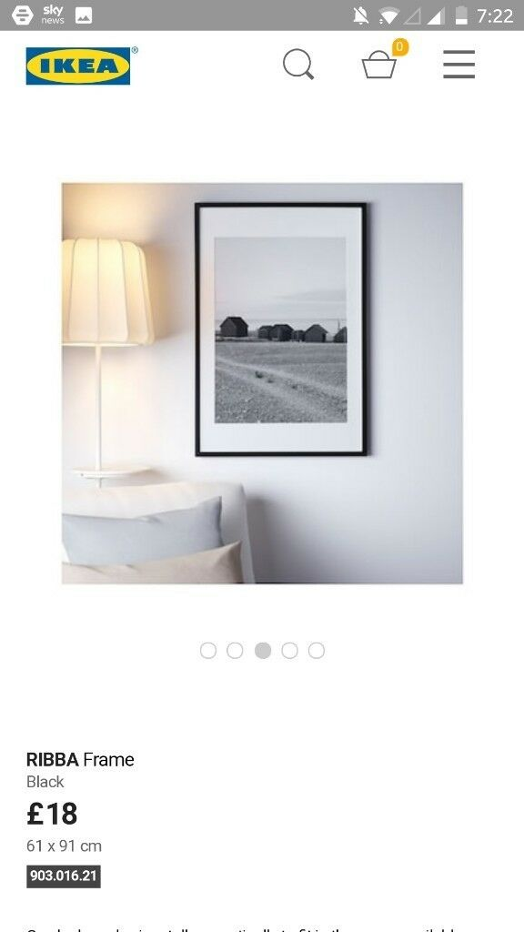 A1 Size Ikea Frame In Tooting Broadway London Gumtree