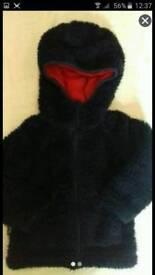 Age 1-2 MOUNTAIN WAREHOUSE fluffy jacket coat