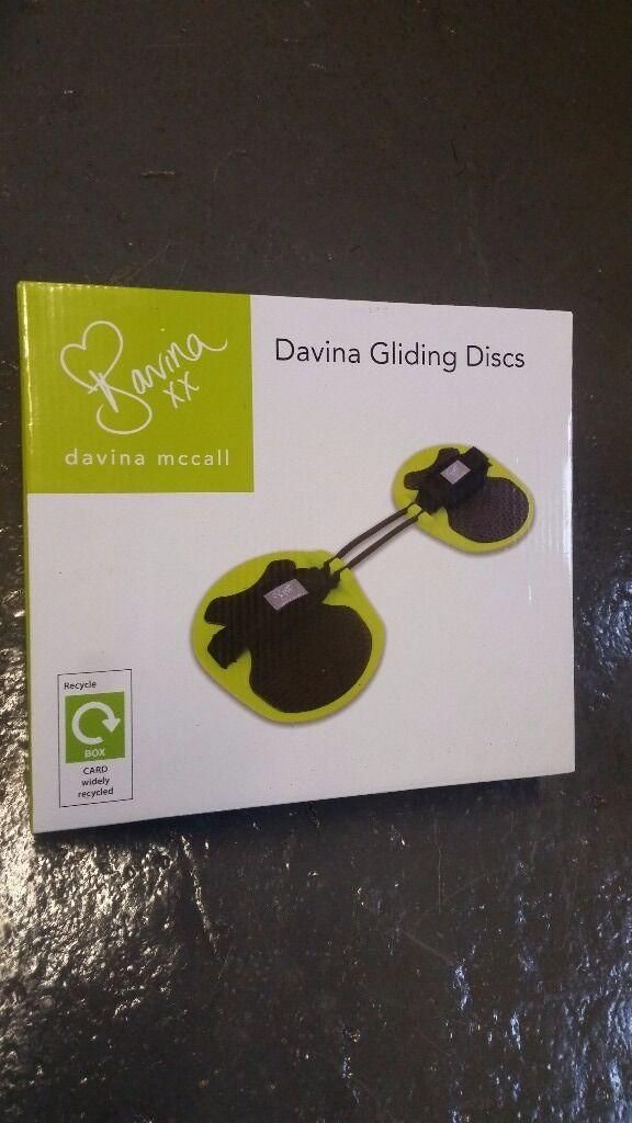 Davina Mccall gliding discs brand new