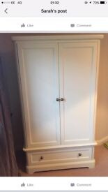 Mammas and papas orchid nursery wardrobe and changing drawers! Excellent condition!