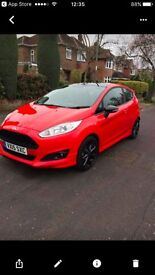2015 Ford Fiesta ZETEC S RED EDITION Petrol red Manual EcoBoost