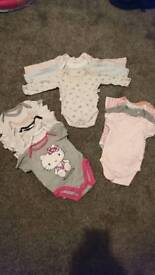 0-3 month baby girls clothes