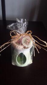 Yankee candle burner & tarts gift set NEW