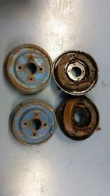 "Ford Escort mk1 mk2 Rear 9"" Drum brake s and back plates"