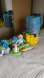 Bundle of toddlers toys