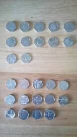 Various Commerative Coins