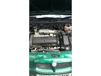 MG ZR 160 In Green VVC 70,000 milage