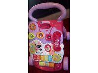 Baby/toddler vtech pink walker