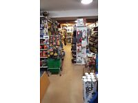 Shop fittings for 50sm unit and Wooden Shelving