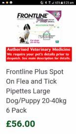 Frontline Plus Dog L