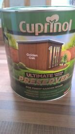 Cuprinol Ultimate Garden Wood Preserver in Golden Oak