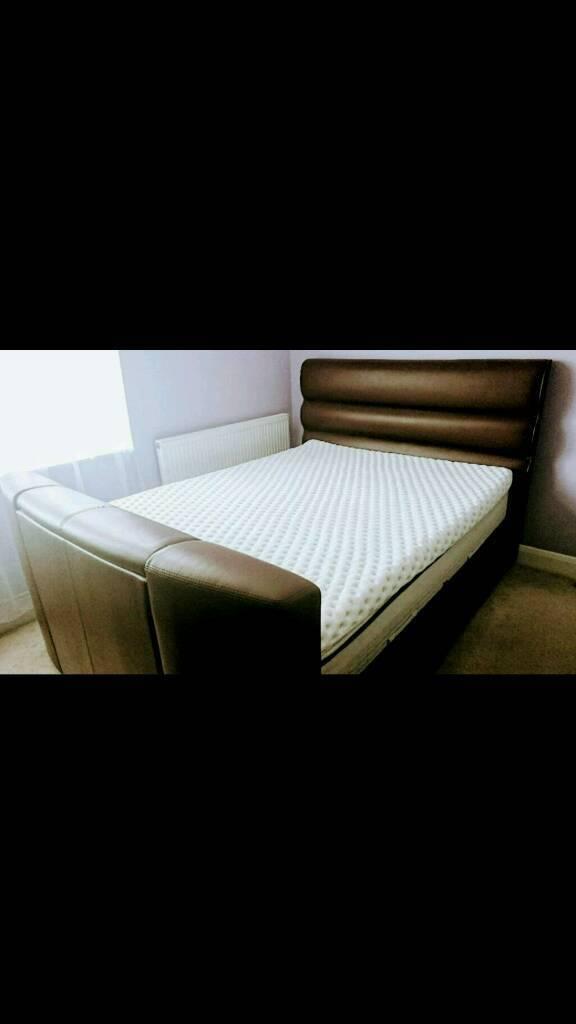 Pleasing Dreams Barcelona Built In Tv Bed In Hayes London Gumtree Machost Co Dining Chair Design Ideas Machostcouk
