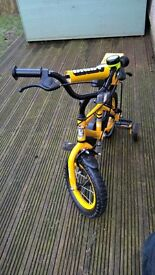 "Apollo ""Digby"" kids bike. 12"" wheels suit 3-4 year old"