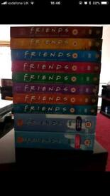 Friends DVD's - all 10 seasons-complete series