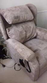 Specialist recliner chair.