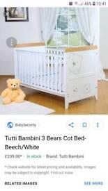 Tutti bambini Cot Bed