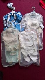 brand new with tags 0 to 3 months baby newborn neutral child kid gift set clothes 4 to choose from
