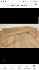 Highbury Oak extending table top (without legs)