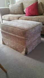 Duresta footstool with storage box from John Lewis