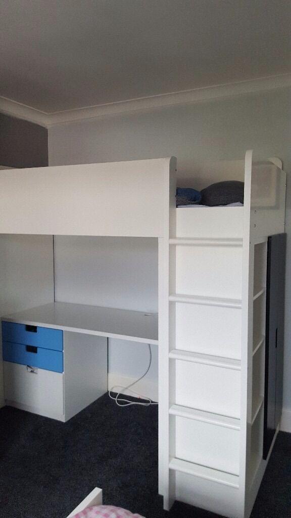 Ikea Bed Stuva High Sleeper Loft Bed In Portsmouth