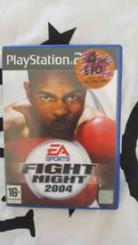 Ps2 game fight night 2004