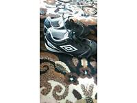 Kids size 13 umbro trainers