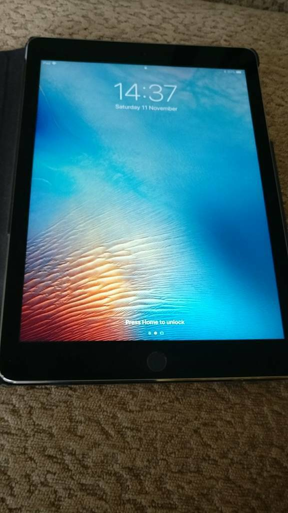 IPad Air 2 Space Grey 16gb With Original Box