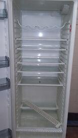 white santo larder fridge