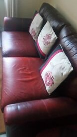 2 X 3 seater settees